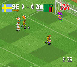 Play Head-On Soccer (SNES) Online