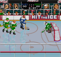 Play Hit the Ice (SNES) Online