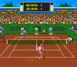 Play International Tennis Tour (SNES) Online