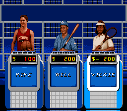 Play Jeopardy! – Sports Edition (SNES) Online