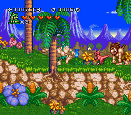 Play Joe & Mac 3 – Lost in the Tropics (SNES) Online
