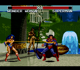 Play Justice League Task Force (SNES) Online