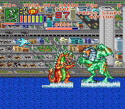 Play King of the Monsters 2 (SNES) Online