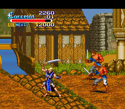 Play Knights of the Round (SNES) Online