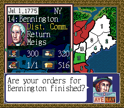 Play Liberty or Death (SNES) Online