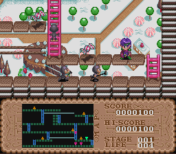 Play Lode Runner Twin – Justy to Liberty no Daibouken (SNES) Online