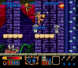 Play Magic Sword (SNES) Online