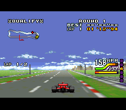 Play Michael Andretti's Indy Car Challenge (SNES) Online