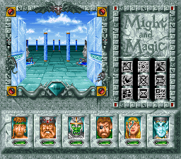 Play Might and Magic III – Isles of Terra (SNES) Online