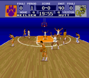 Play NCAA Basketball (SNES) Online