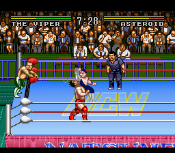 Play Natsume Championship Wrestling (SNES) Online