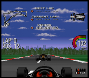 Play Newman-Hass Indy Car Featuring Nigel Mansell (SNES) Online