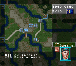 Play Operation Europe – Path to Victory 1939-45 (SNES) Online