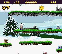 Play Out to Lunch (SNES) Online