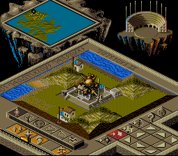 Play Populous II – Trials of the Olympian God (SNES) Online