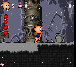Play Porky Pig's Haunted Holiday (SNES) Online