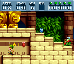 Play Putty Squad (SNES) Online