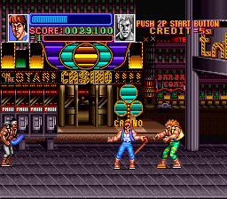 Play Return of Double Dragon (SNES) Online