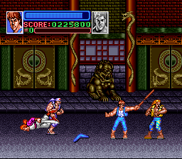 Play Return of Double Dragon Music Fix (SNES) Online