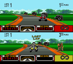 Play Road Riot 4WD (SNES) Online