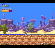 Play Road Runner's Death Valley Rally (SNES) Online