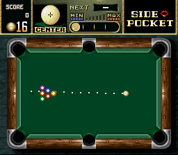 Play Side Pocket (SNES) Online