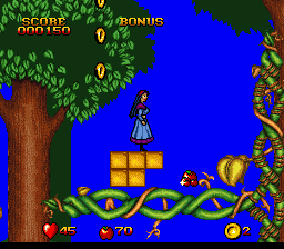 Play Snow White in Happily Ever After (SNES) Online