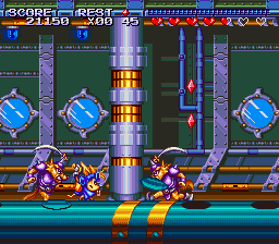 Play Sparkster (SNES) Online