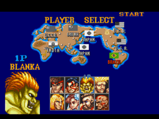Play Street Fighter II Hype Modified Edition (SNES) Online