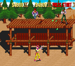Play Sunset Riders (SNES) Online