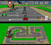Play Super Baldy Kart – Shelly's Circuits (SNES) Online