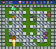 Play Super Bomberman 5 – Caravan Event Ban (SNES) Online