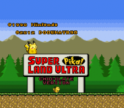 Play Super Pika Land Ultra – Chocolate Version (SNES) Online
