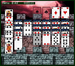 Play Super Solitaire (SNES) Online