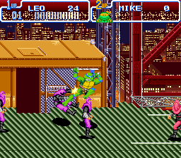 Play Teenage Mutant Ninja Turtles IV – Turtles in Time (SNES) Online