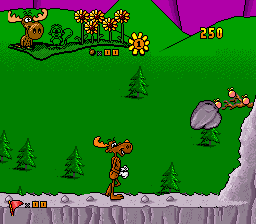 Play The Adventures of Rocky and Bullwinkle and Friends (SNES) Online