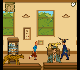 Play The Adventures of Tintin – Prisoners of (SNES) Online