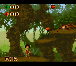 Play The Jungle Book (SNES) Online