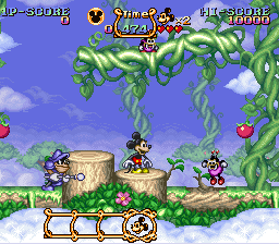 Play The Magical Quest Starring Mickey Mouse (SNES) Online