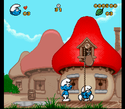 Play The Smurfs (SNES) Online