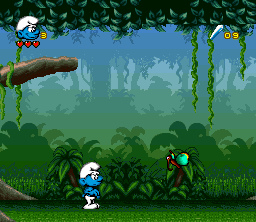 Play The Smurfs 2 (SNES) Online