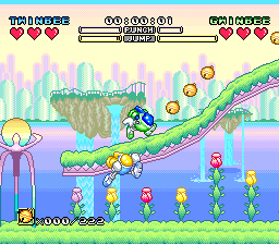 Play TwinBee – Rainbow Bell Adventure (english translation) (SNES) Online