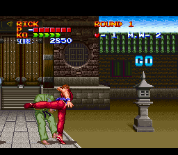 Play Ultimate Fighter (SNES) Online