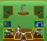 Play Ultra Baseball Jitsumeiban (SNES) Online