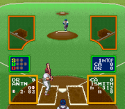 Play Ultra Baseball Jitsumeiban (english translation) (SNES) Online