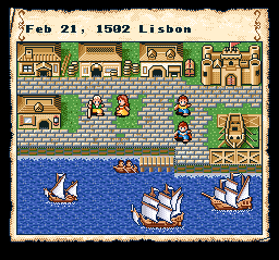 Play Uncharted Waters (SNES) Online