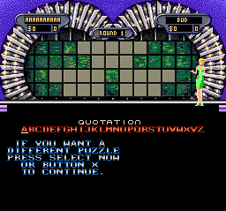 Play Wheel of Fortune – Deluxe Edition (SNES) Online