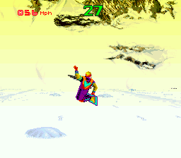 Play Winter Extreme Skiing and Snowboarding (SNES) Online