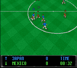 Play World Cup Striker (SNES) Online