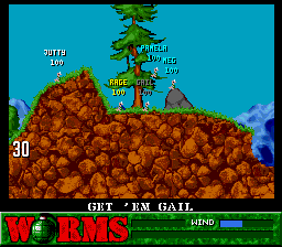 Play Worms (SNES) Online